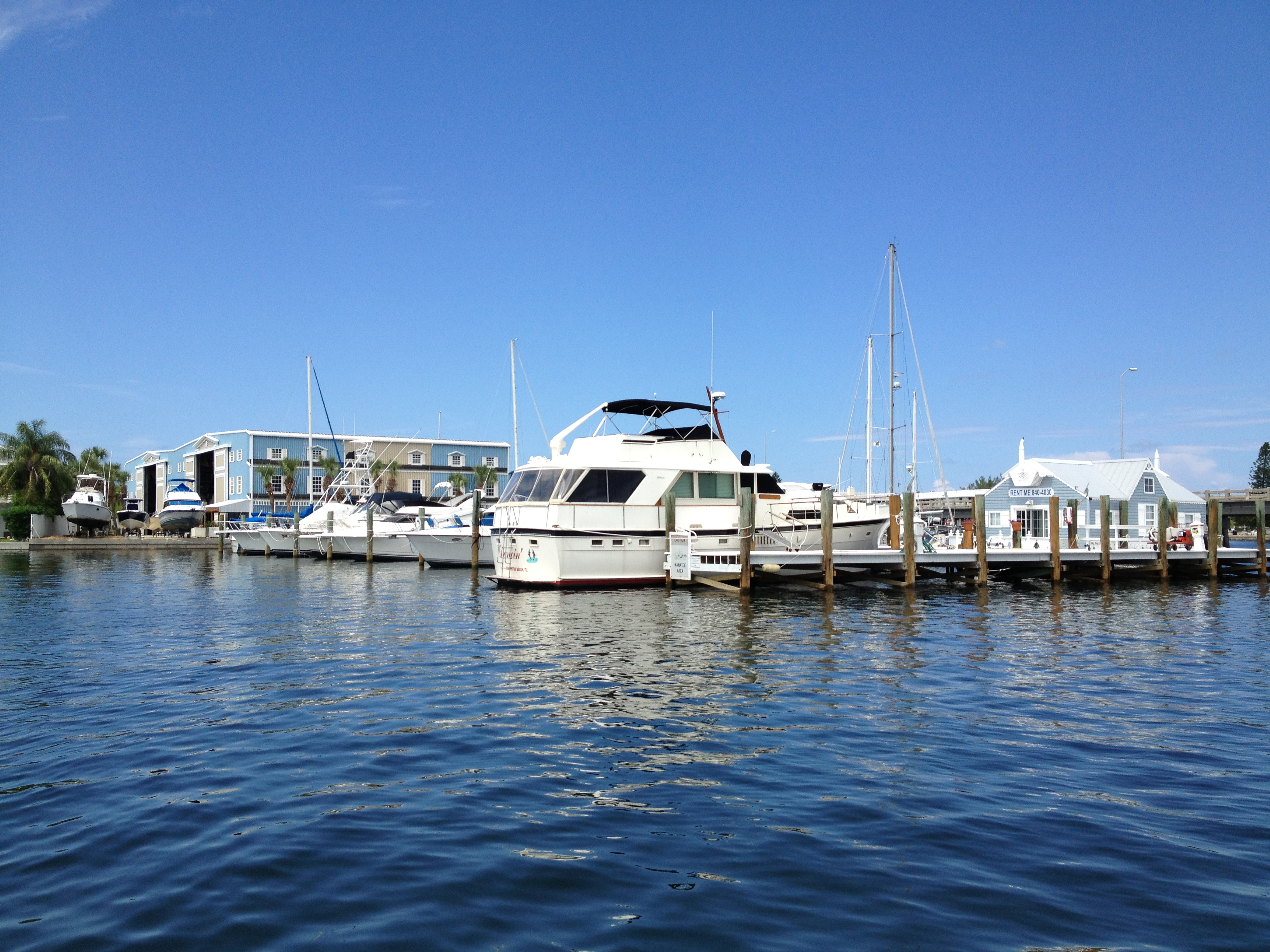 Dockage & Boat Storage - Bradenton Beach Marina