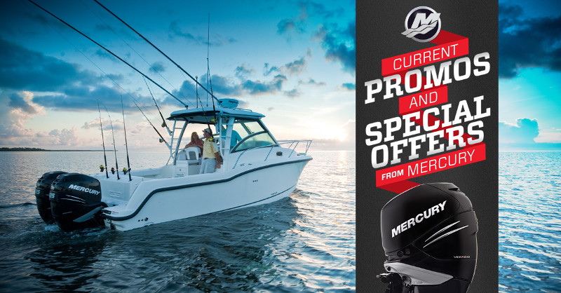 Need Mercury Outboards? Think Bradenton Beach Marina!