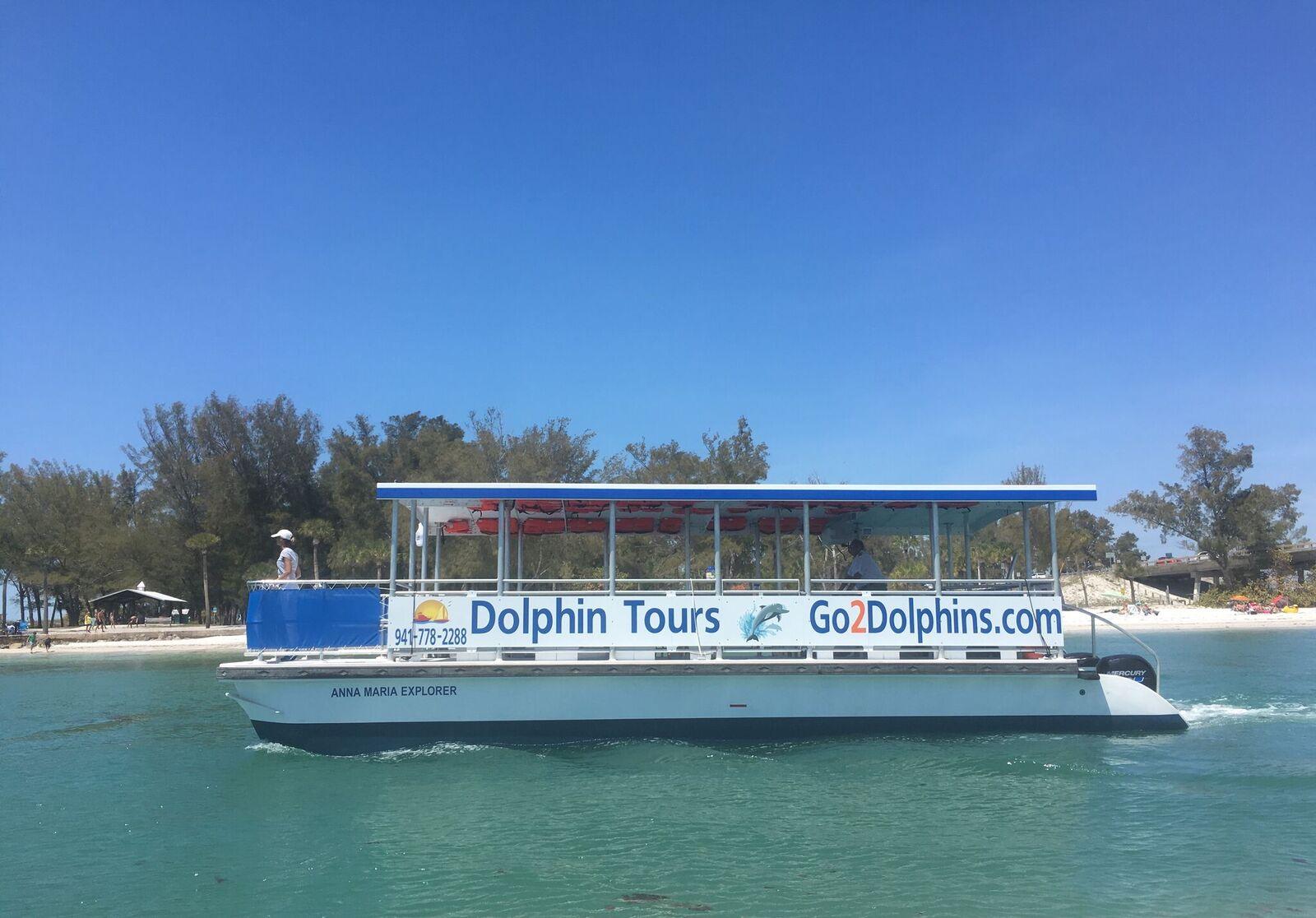 Boat Tours Dolphin Tours Sunset Cruises Egmont Key Boat