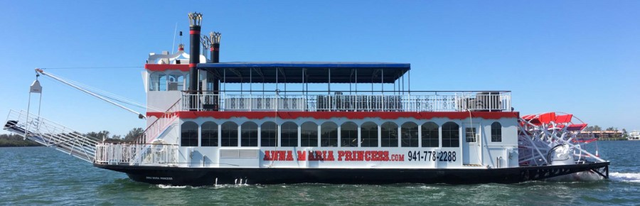 Anna Maria Princess Tour paddle boat (Custom)