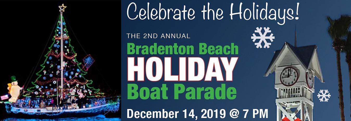 Bradenton Beach Holiday Boat Parade slider